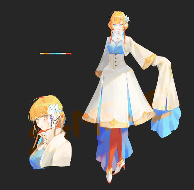 - Illust of ilion girl 服裝設計