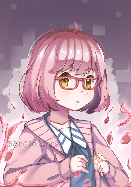 Kuriyama Mirai Illust of Ardist medibangpaint animegirl anime cutegirl fansart