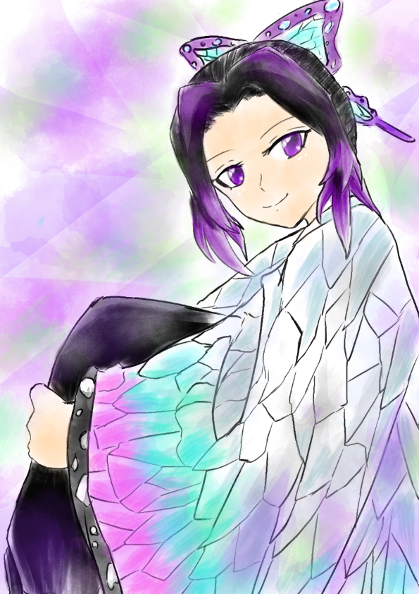 蛇-kutinawa-さんの線画塗りました Illust of 嫺やか medibangpaint 線画の色塗り