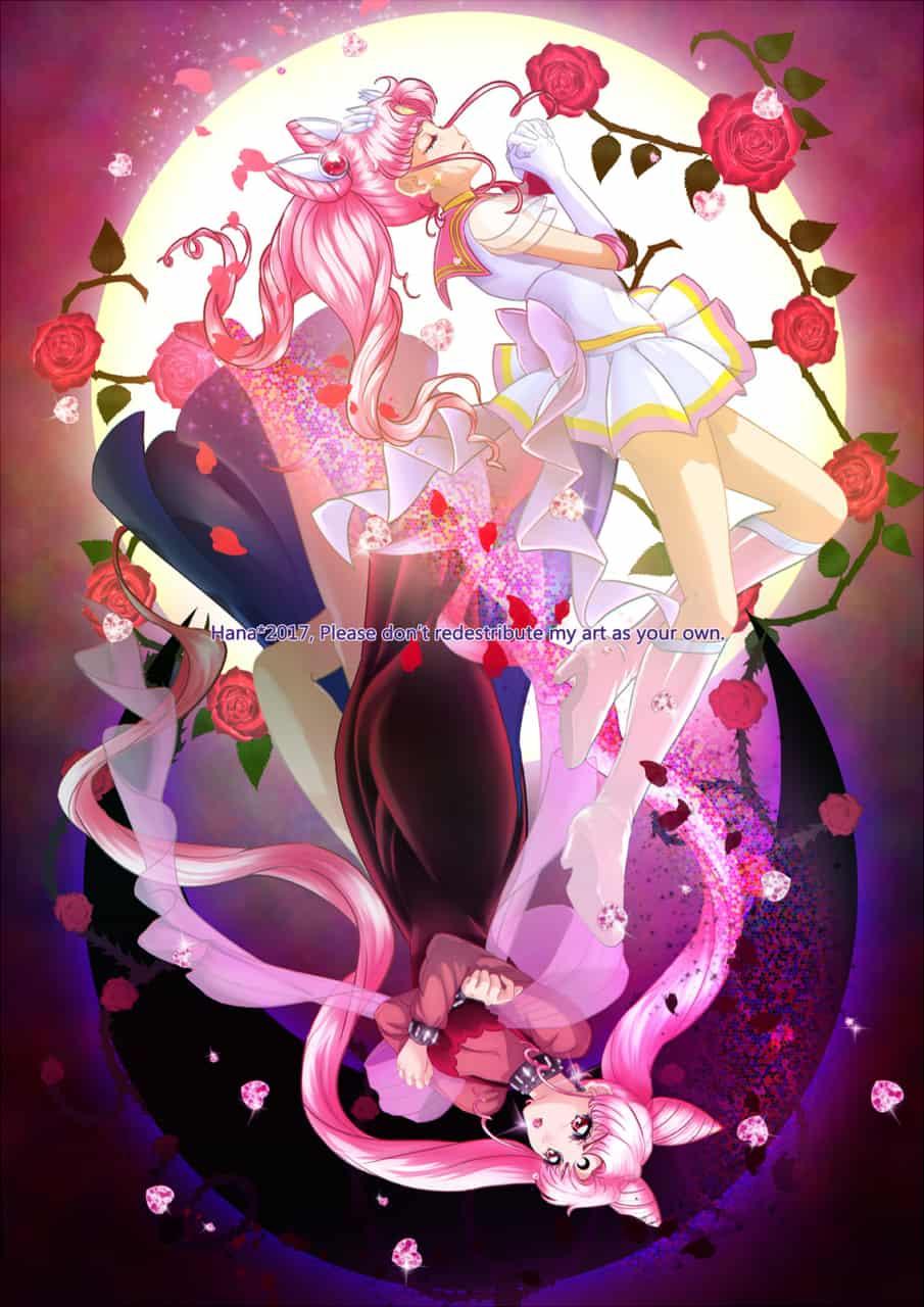 The Maybe, The could have been... Illust of Hana-Keijou chibiusa pink sailorsenshi sailorchibimoon PrettyGuardianSailorMoon blacklady cresentmoon moonkingdom wickedlady fullmoon