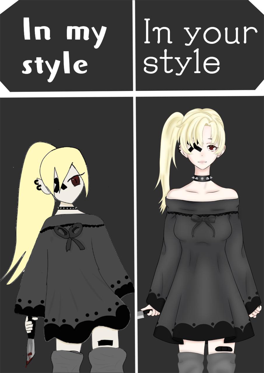 collaboration with kittymoon (started recently)  Illust of nun || ayums.uwu medibangpaint anime animeart animegirl digital dark collab redraw black