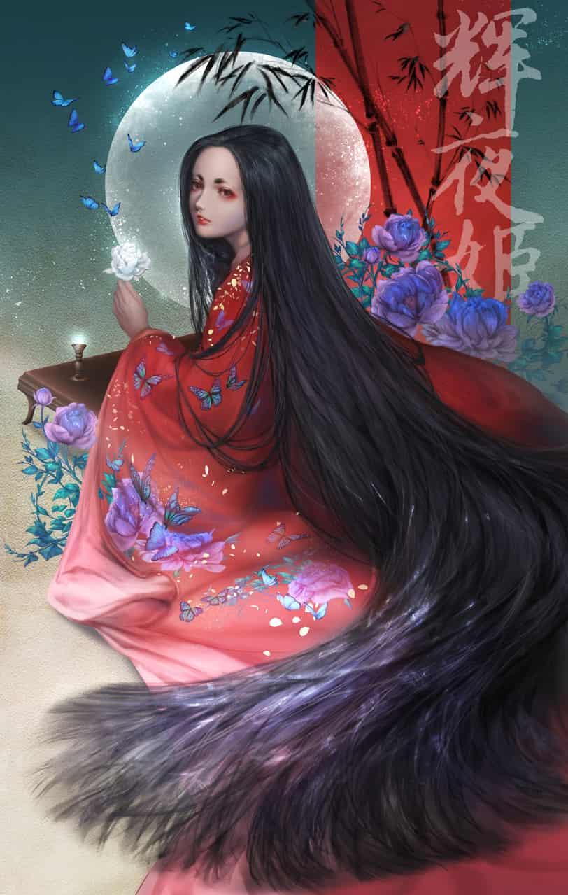 genji monogatari - kaguya hime Illust of Eden Chang Nov.2019Contest かぐや姫