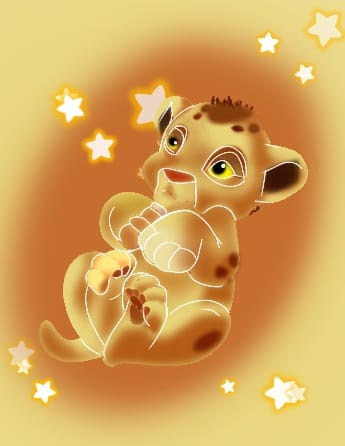 For TurboSun, the baby lion king. Illust of ChibiL.Rini Simba cute lionceau Abonnés 2020 baby ChibiL.Rini TurboSun