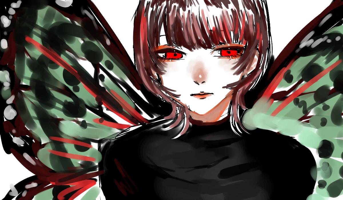 むし Illust of OHTEAOH 小5 girl butterfly