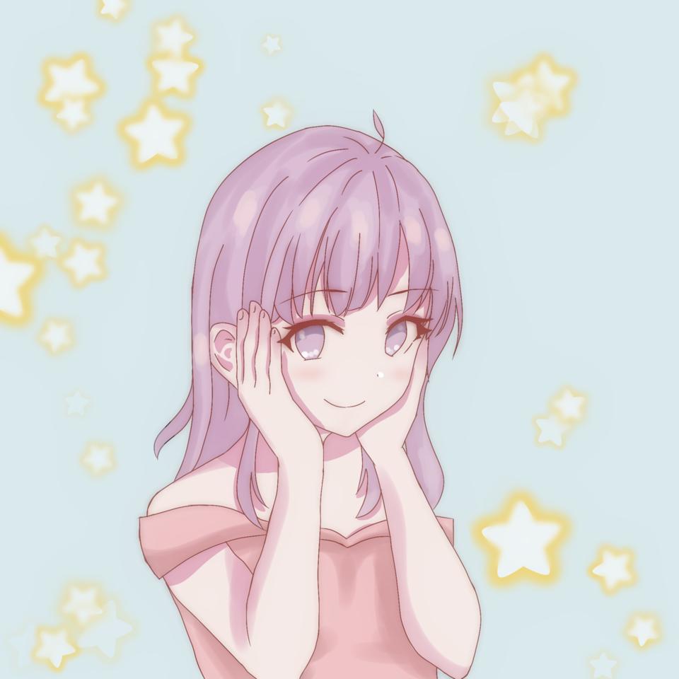 yay new art style Illust of ☆°•chloe•°☆ medibangpaint cute art Artwork anime animeart animegirl