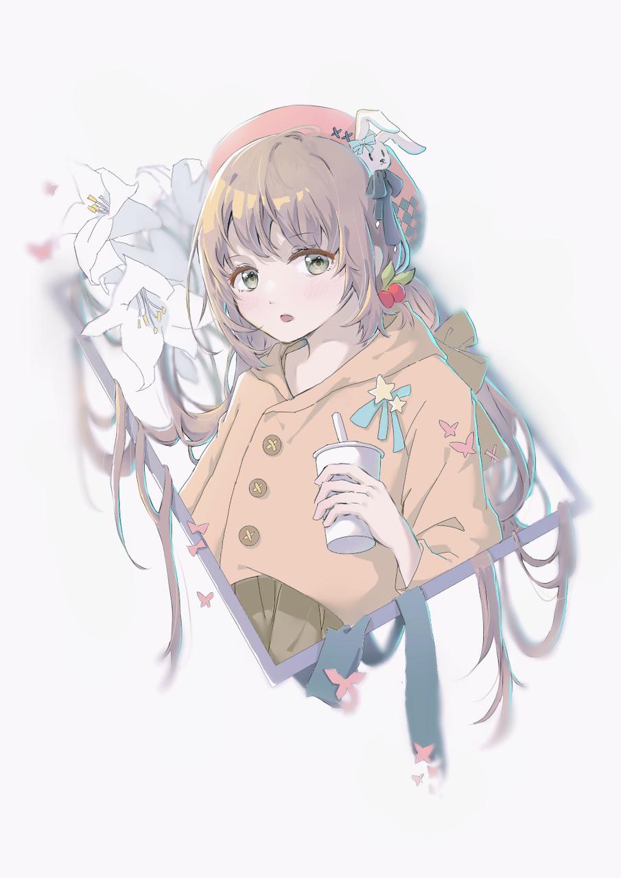 原创 Illust of 灵芝midnight September2021_Girl medibangpaint girl 美少女 original