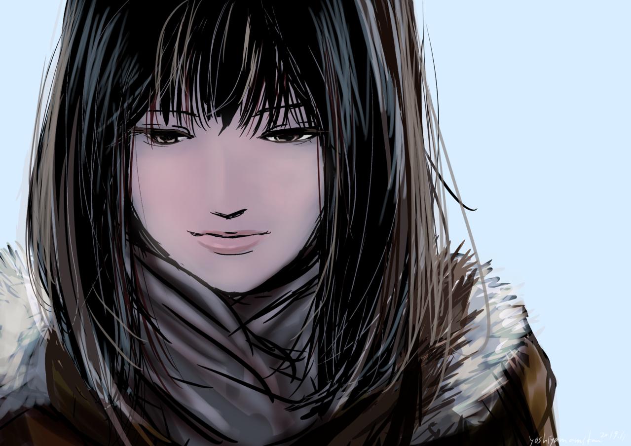 落書き Illust of 吉山みかん メディバンペイント 落書き女の子
