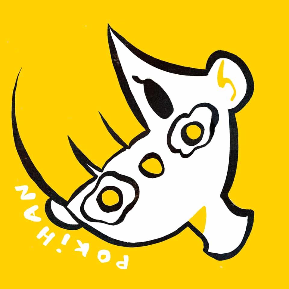 P O K I H A N  Illust of poki.han kawaii doodle PokiHan Adorable yellow Egg