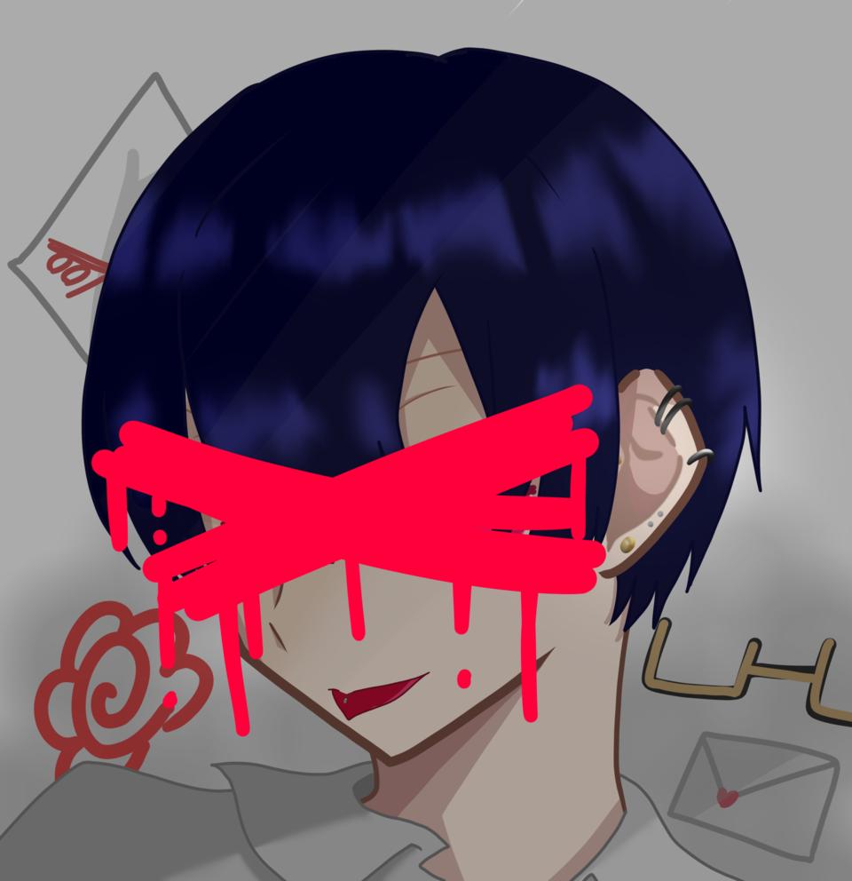 嘘吐き Illust of 巌 えん oc doodle boy
