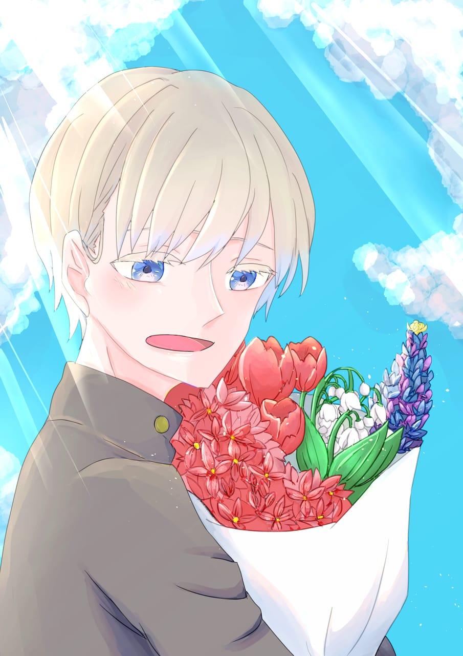花束 Illust of ちよこ April2021_Flower コンテスト応募作品 illustration flower