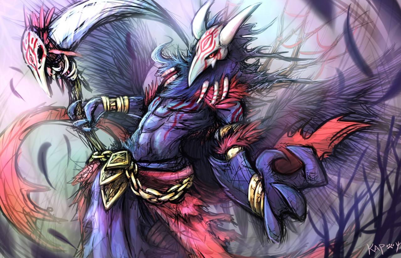 烏醫 Illust of KapCat September2020_Contest:Furry 獸人 烏鴉