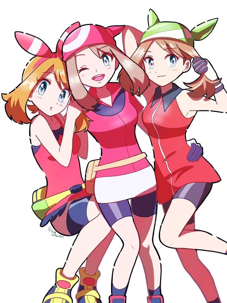 ハルカ3変化 Illust of ししい girl pokemon