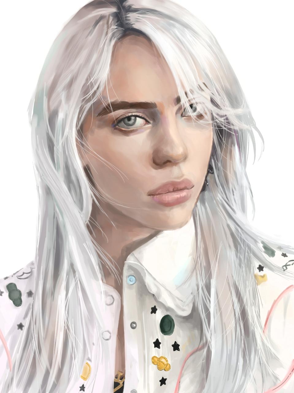 Billie Eilish Illust of 羁绊 medibangpaint
