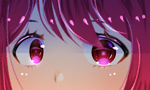 Anime eyes ( Thanks to RhiZero!💞💞💝💞💝 ) Illust of Infinite stylez medibangpaint eyes anime Animeeyes hahahahahaha