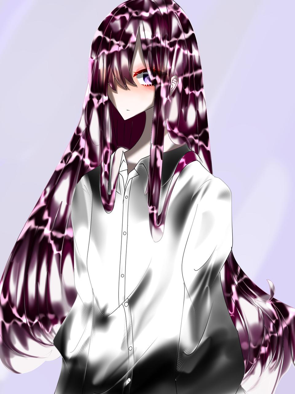 冷 Illust of 如月来蕾≮TRPG≯ medibangpaint oc girl 冷 カッターシャツ