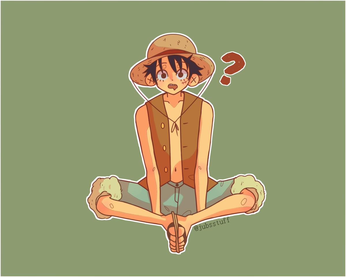 Luffy Illust of juliabossoo medibangpaint cute fanart mugiwara ONEPIECE anime monkydluffy Luffy pastel