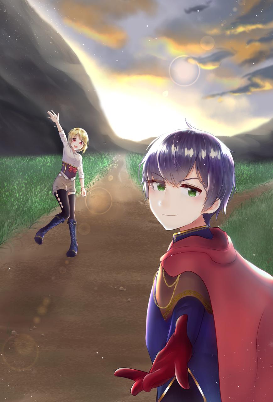 さあ行こう! Illust of ▽カミヤスリ fantasy adventure 3rdMCPOillustration