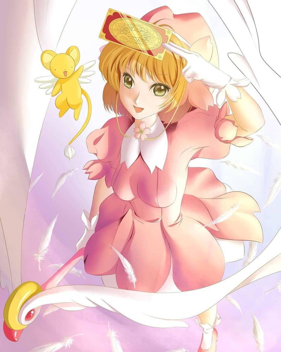 カードキャプターさくら Illust of 猫雨 木之本桜 CardcaptorSakura ケルベロス