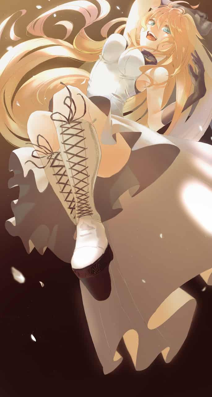 🕊 Illust of 陳田こころ May.2020Contest:Cheering April.2020Contest:Color ARTstreet_Ranking 光 painting oc illustration girl dress blonde