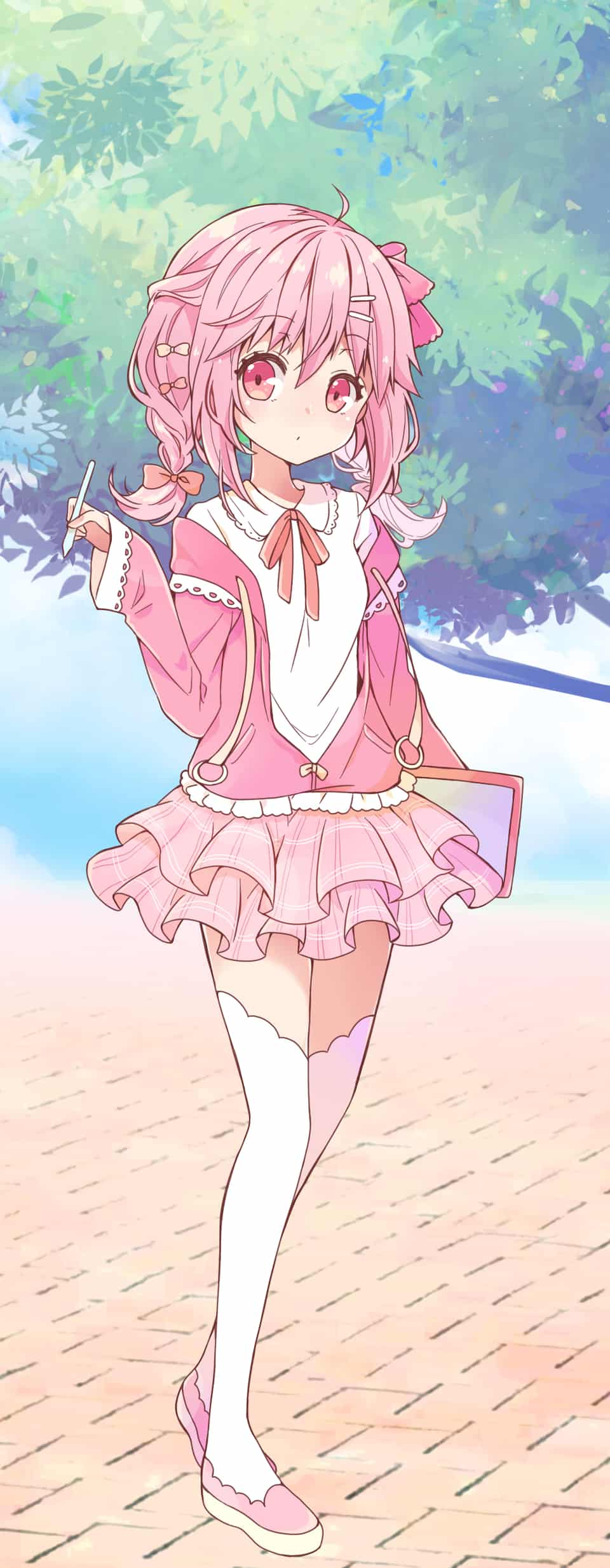 ピンクちゃん Illust of KEN_KEN PASTEL_SKETCH2020