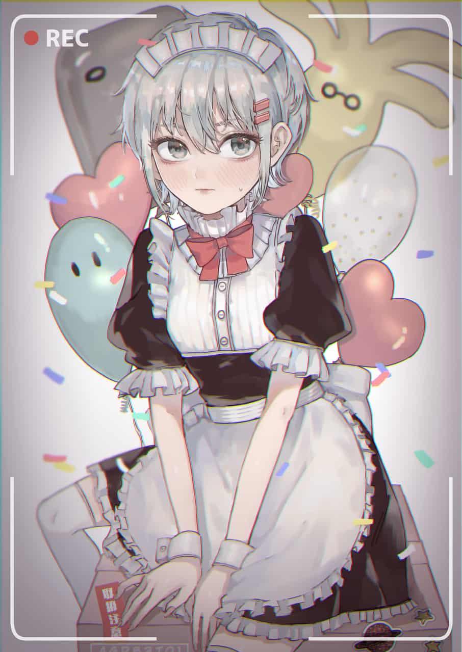 メイド回 Illust of 錦 メイド服 girl fanart