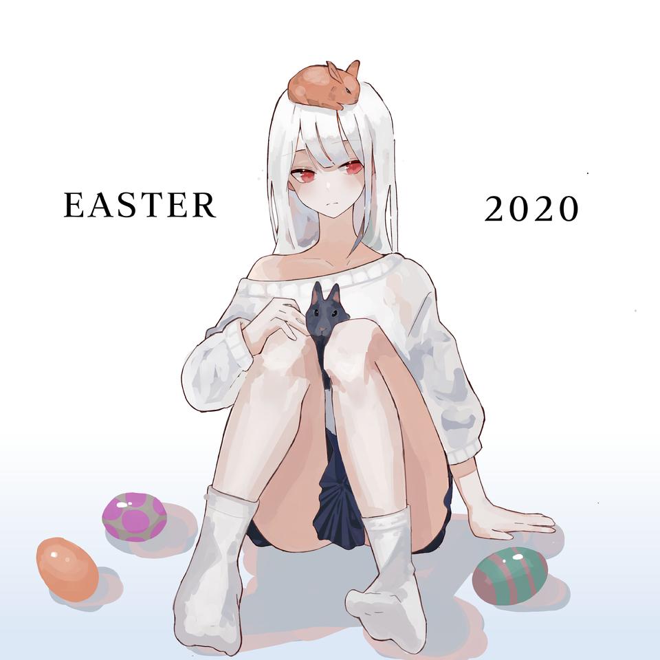Easter 2020 Illust of Sugar March.2020Contest:Easter medibangpaint girl animegirl anime easter