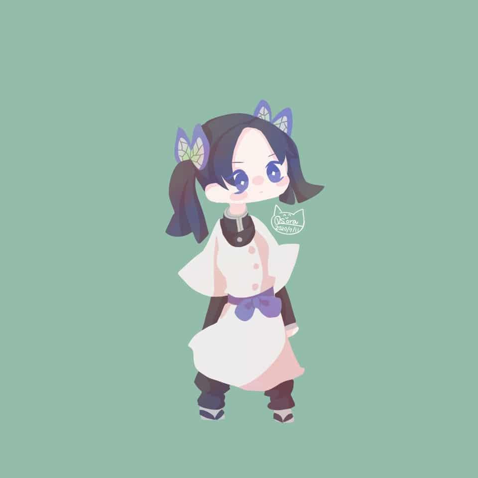 アオイちゃん Illust of OSora KimetsunoYaiba 神崎アオイ