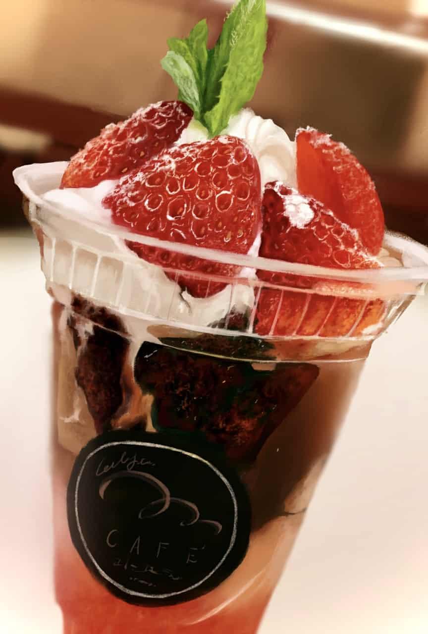 イチゴパフェ Illust of BUZZ October2020_Contest:Food food strawberry