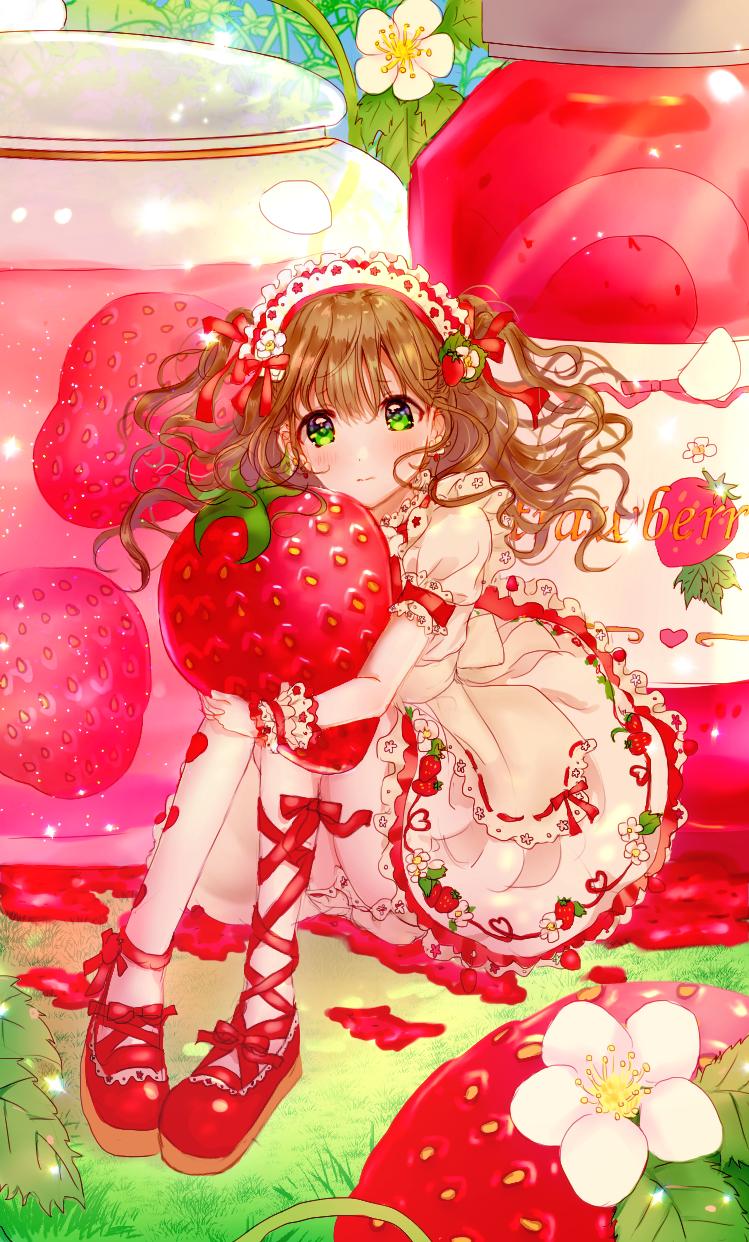 いちご Illust of Peach☆Punch strawberry girl エプロンドレス ロリータ