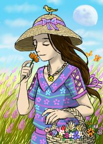 Spring morning (Manhã de primavera)