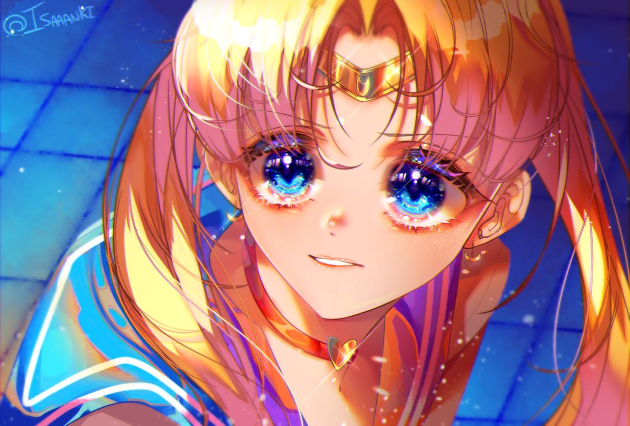 Sailor Moon Redraw Illust of Isaaanki PrettyGuardianSailorMoon CLIPSTUDIOPAINT sailormoonredraw UsagiTsukino painttoolsai sailormoondrawing clipstudio