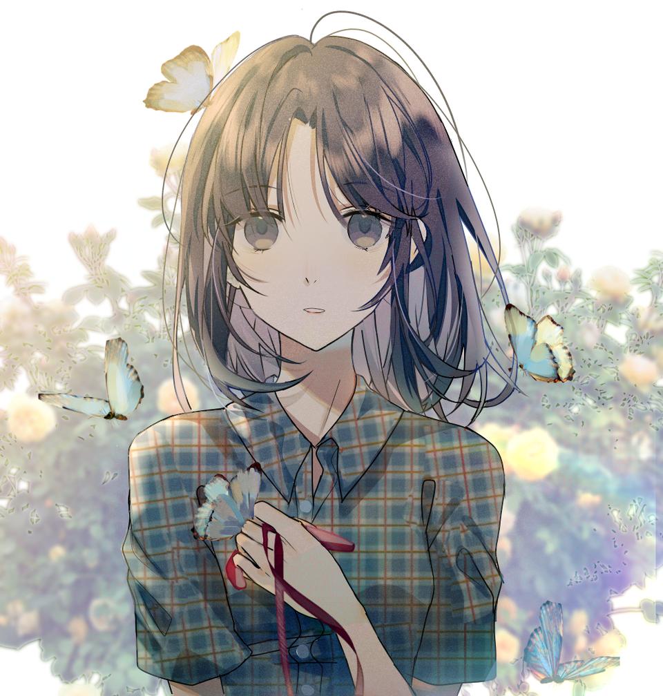 原创 Illust of kujoTsukimi medibangpaint original girl illustration o原创人物