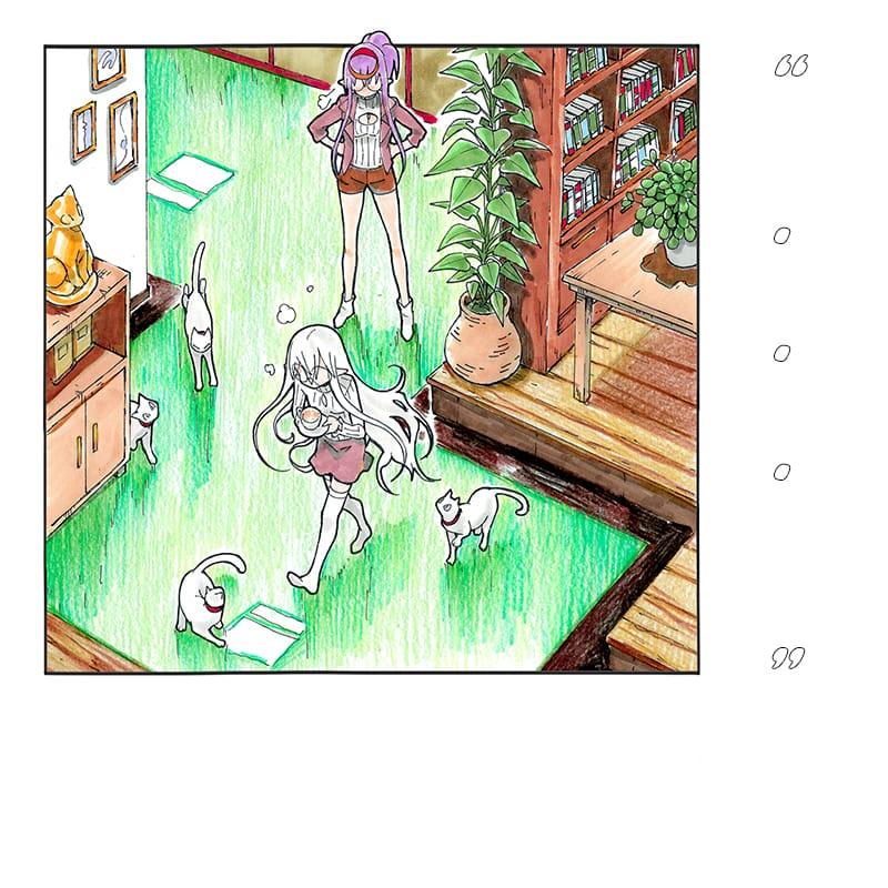 The Coffee Mistress Part 3 1/2 Illust of EUDETENIS cake girl white_hair コーヒー EUDETENIS