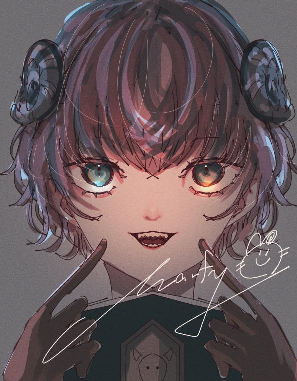 塗チェン Illust of Marfy かっこいい girl sheep portrait horn kawaii