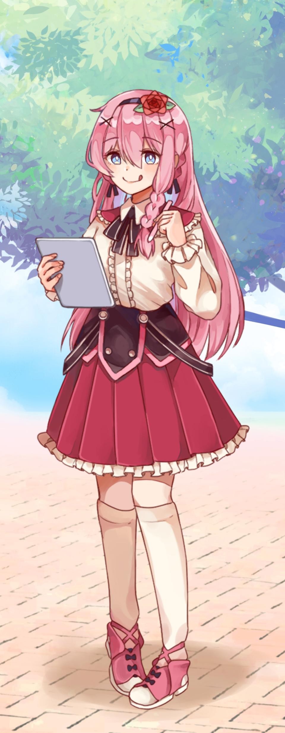Pink-chan (Pastel Sketch) Illust of . PASTEL_SKETCH2020