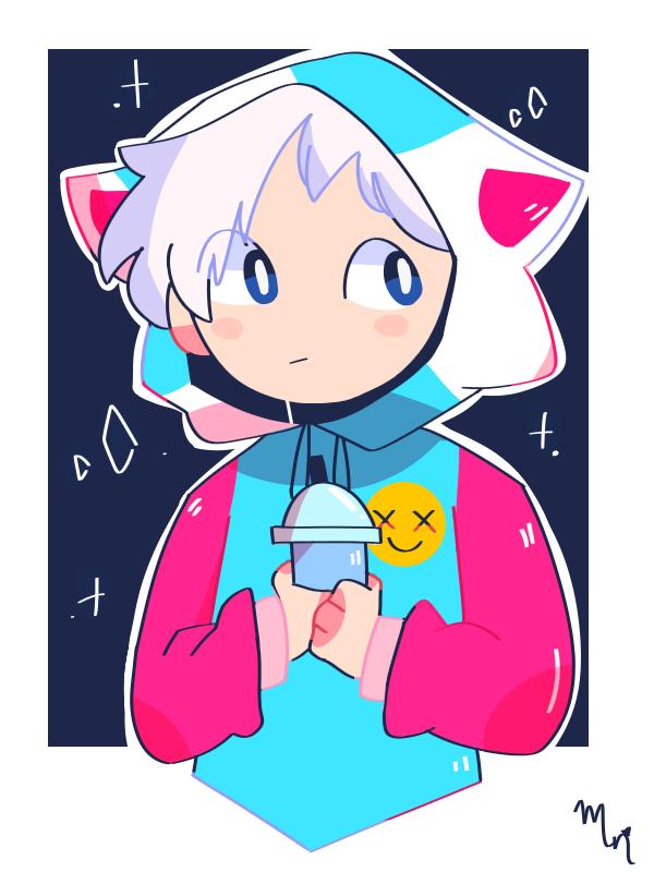 Entry for Crying Cat's contest Illust of MochiiNiko medibangpaint