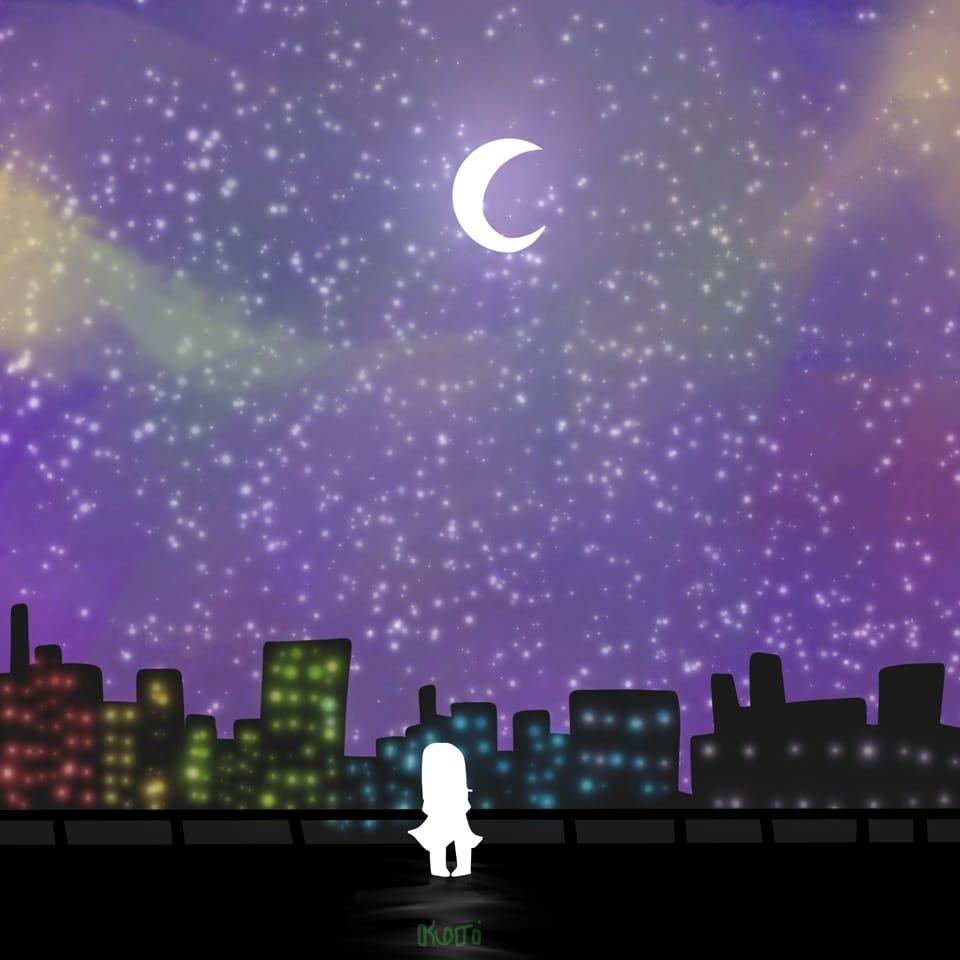 """ A Place I'll Remember... "" Illust of DreamiiKuri | Drèam mode©️ lineless drawing Yesthemoonsucks oc"