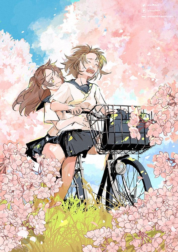 花季 Illust of Go To Uranus April2021_Flower girl sailor_uniform