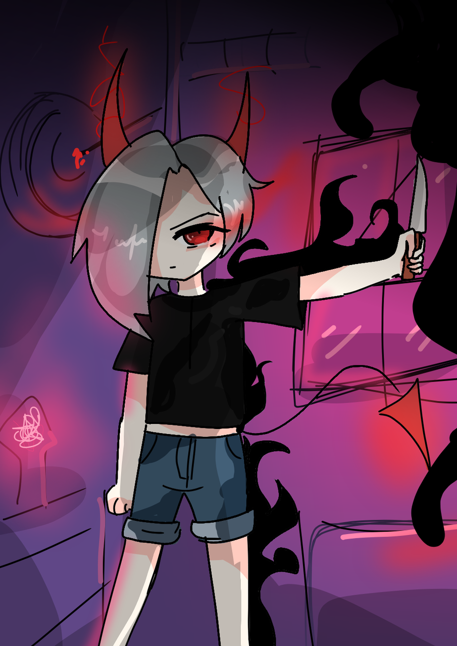 Darkside^^ Illust of 23 medibangpaint
