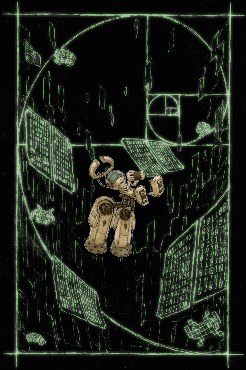 【BB49-37】完全な真空 Illust of ウスイソト 完全な真空 BB49 スタニスワフ・レム