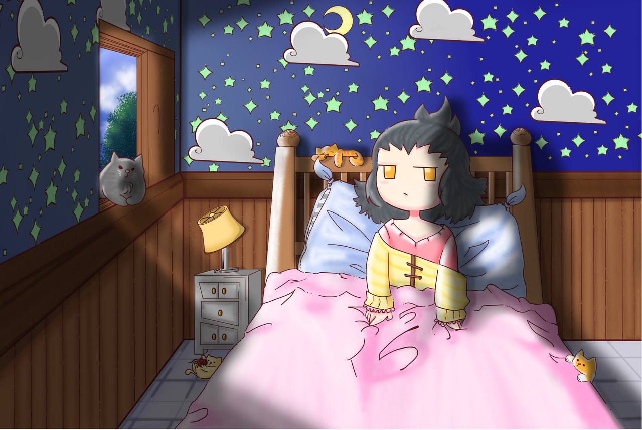 Portada♥ Illust of Karenhc ART_street_Illustration_Book_Contest art kawaii drawing digital chibi anime illustration color medibangpaint original