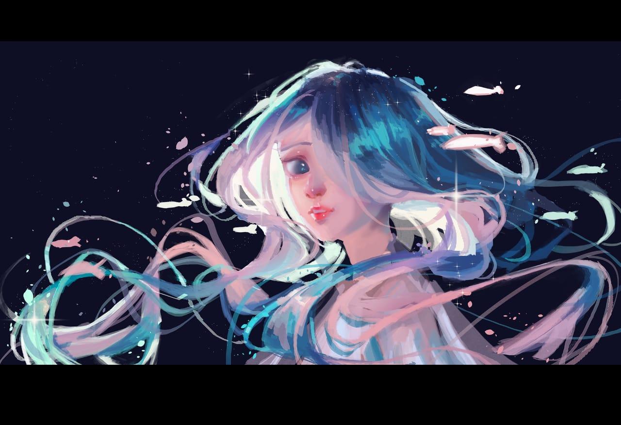 aqua girl Illust of monstersingy1 September2021_Girl ARTstreet_Ranking_Contest
