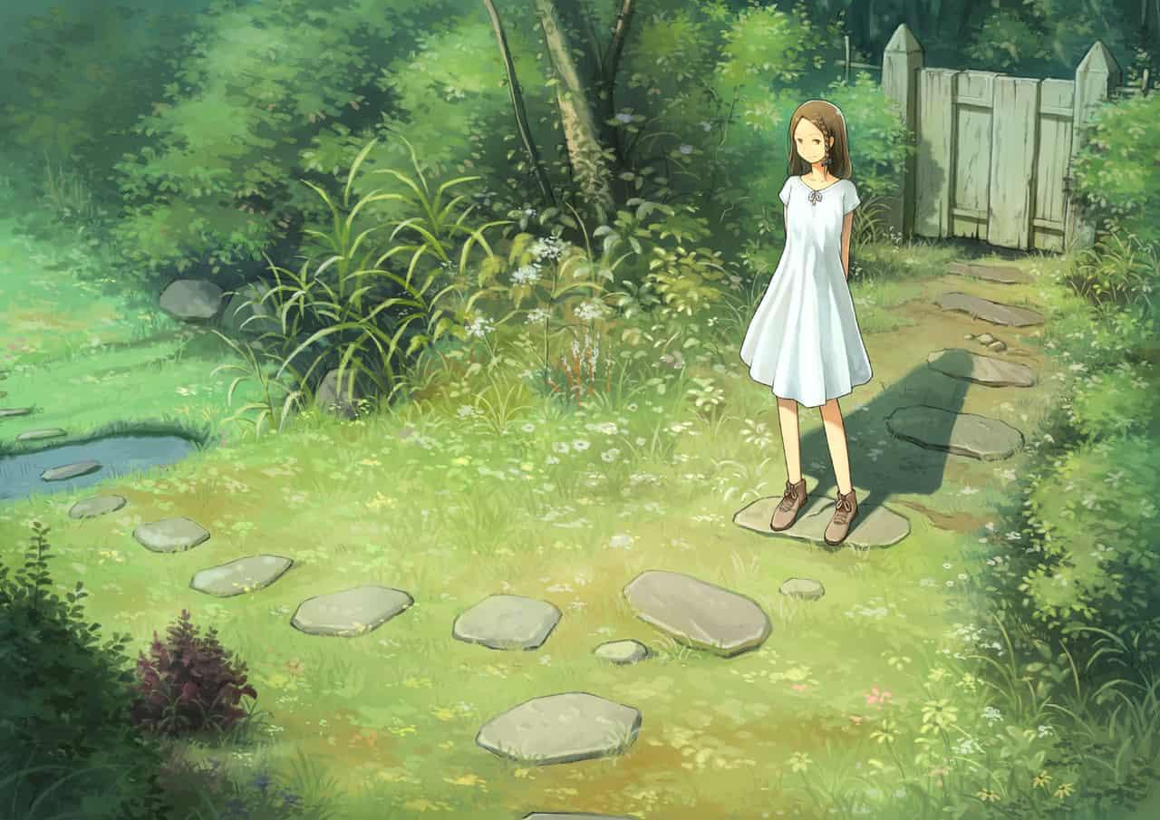 花园少女 Illust of Shinobu 场景 girl green