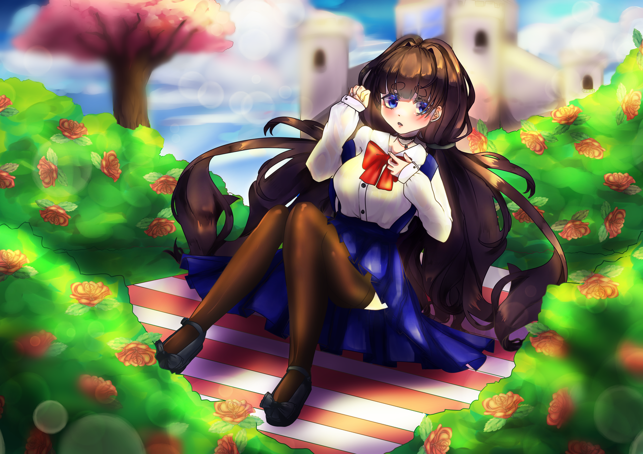Sitting down Illust of AwkwardTobi ARTstreet_Ranking anime Drawings