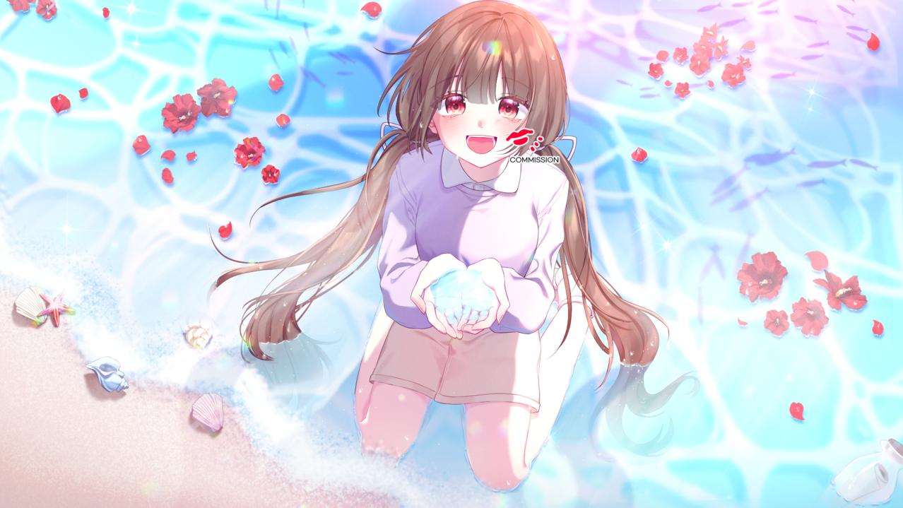 COMMISSION Illust of SYUU キラキラ illustration 일러스트레이션 イラストレーション