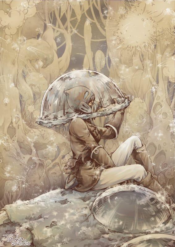 ナウシカ Illust of 橙香 illustration girl 風の谷のナウシカ fanart painter