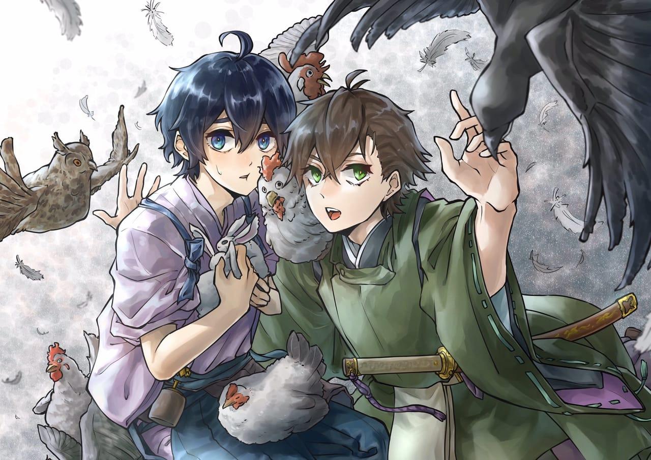 兄と弟 Illust of にいぜき illustration Japanese_style original kimono