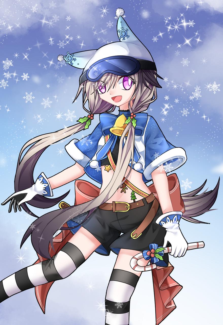 """[投稿3张]「""""梅莉""""Christmas!」"""
