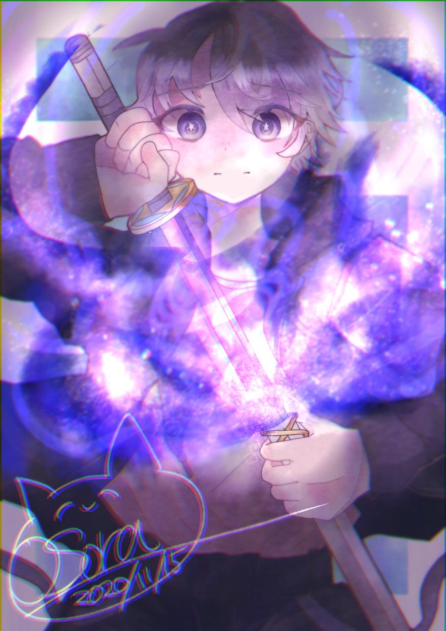 ✨🌠 Illust of OSora oc space OSora medibangpaint 神里颯月