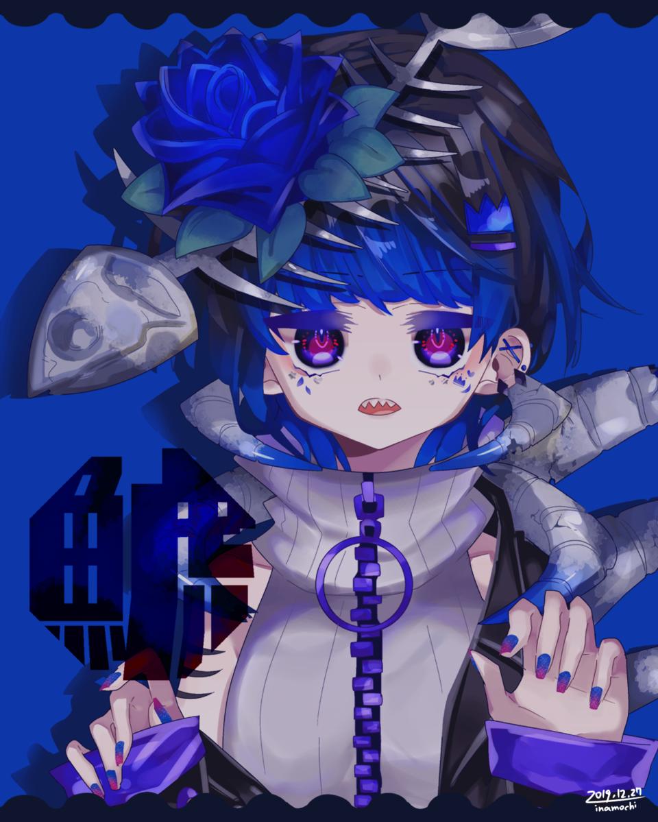 パンダとシャチ Illust of 停止 girl original